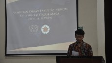 Pidato sambutan pembukaan PDFH pada Senin (16/5)
