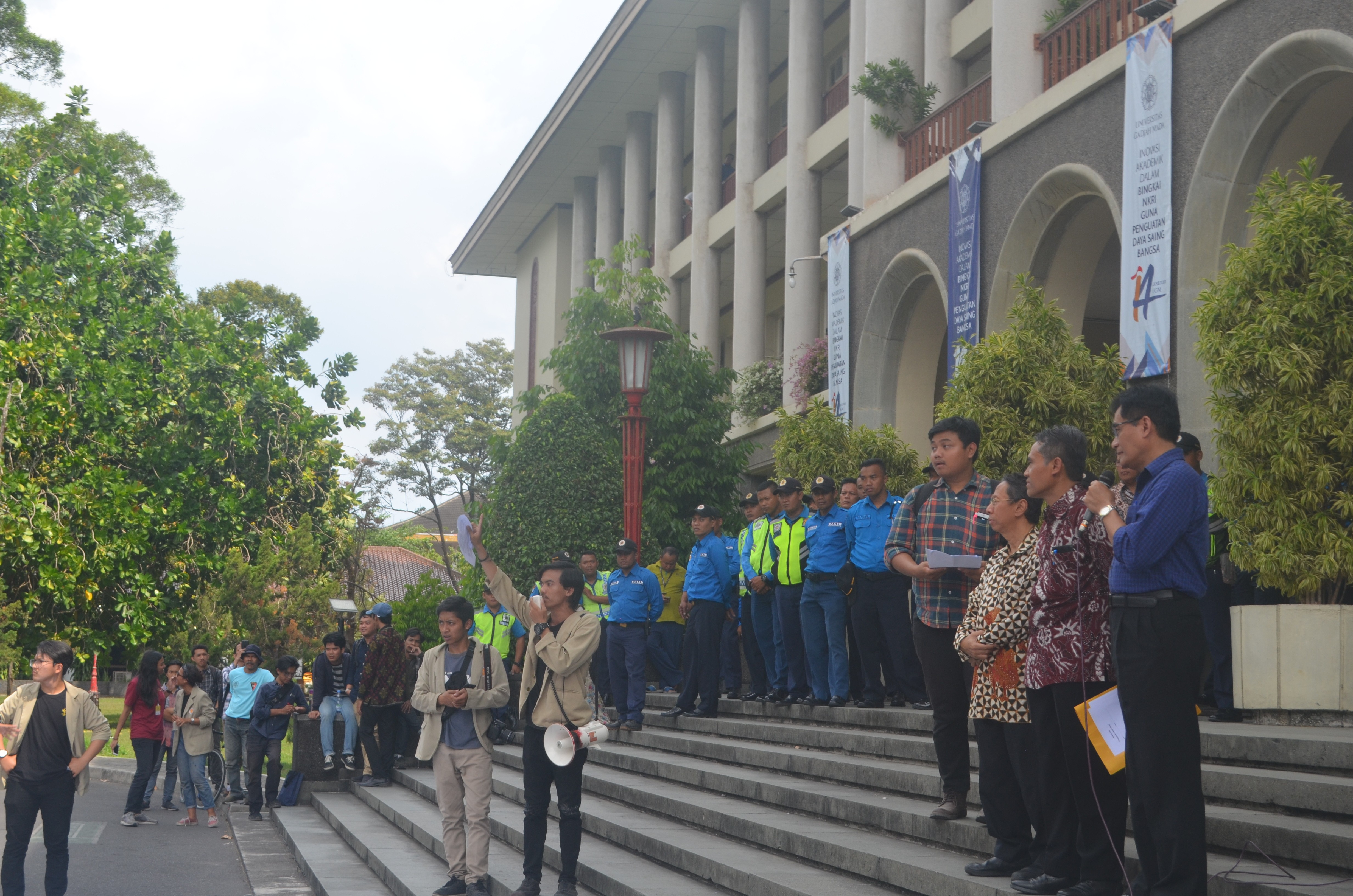 Menggugat Gadjah Mada:  Tujuh Tuntutan untuk Rektorat