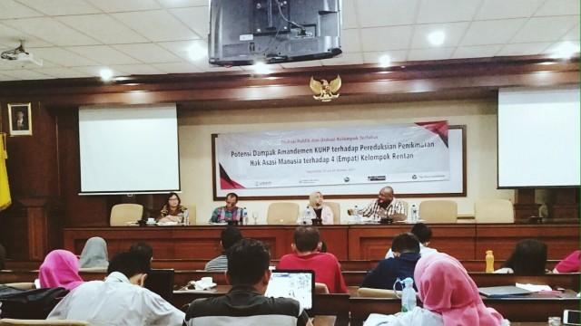 ELSAM dan UGM Gelar Diskusi Publik terkait Amandemen KUHP