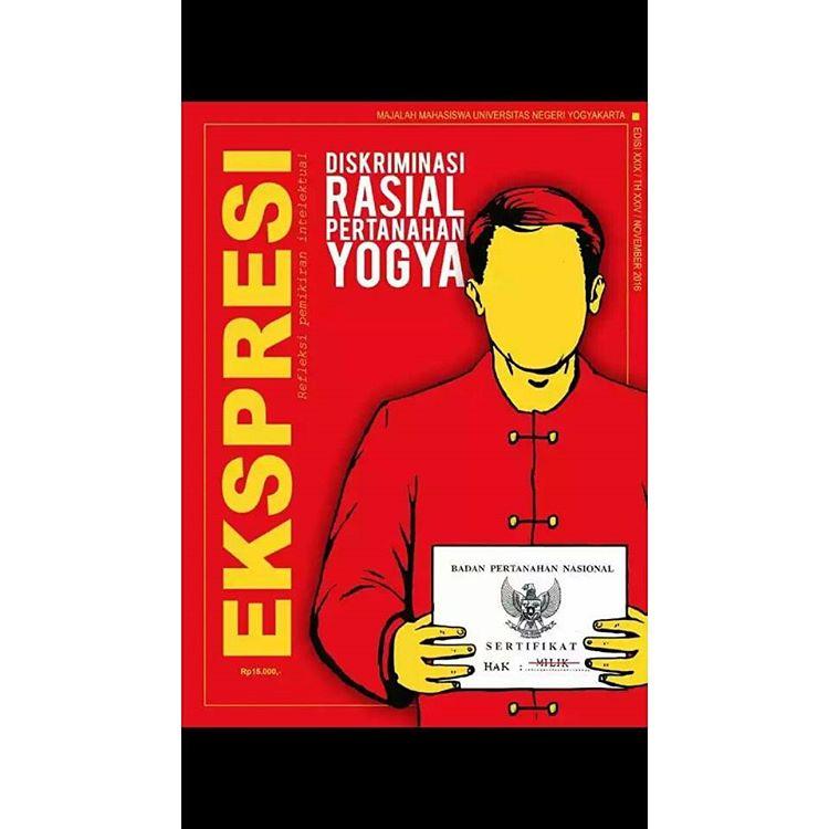 Sampul Majalah LPM Ekspresi