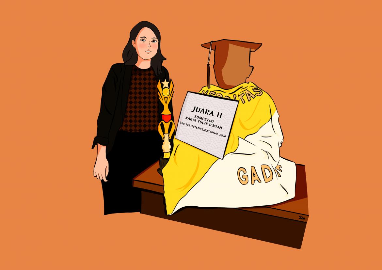 "Mengulik Jejak Perjalanan Vivin Purnamawati, Lulusan ""Summa Cum Laude"" Fakultas Hukum UGM tahun 2021"