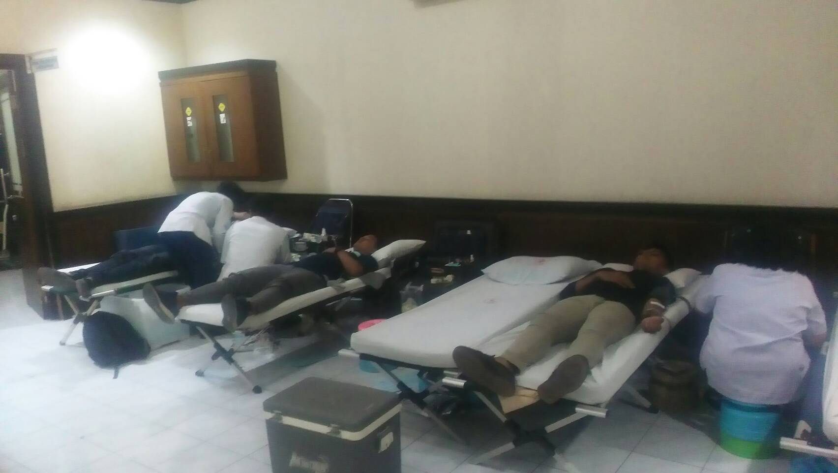 PMK, KMK, dan KMFH Gelar Kegiatan Donor Darah