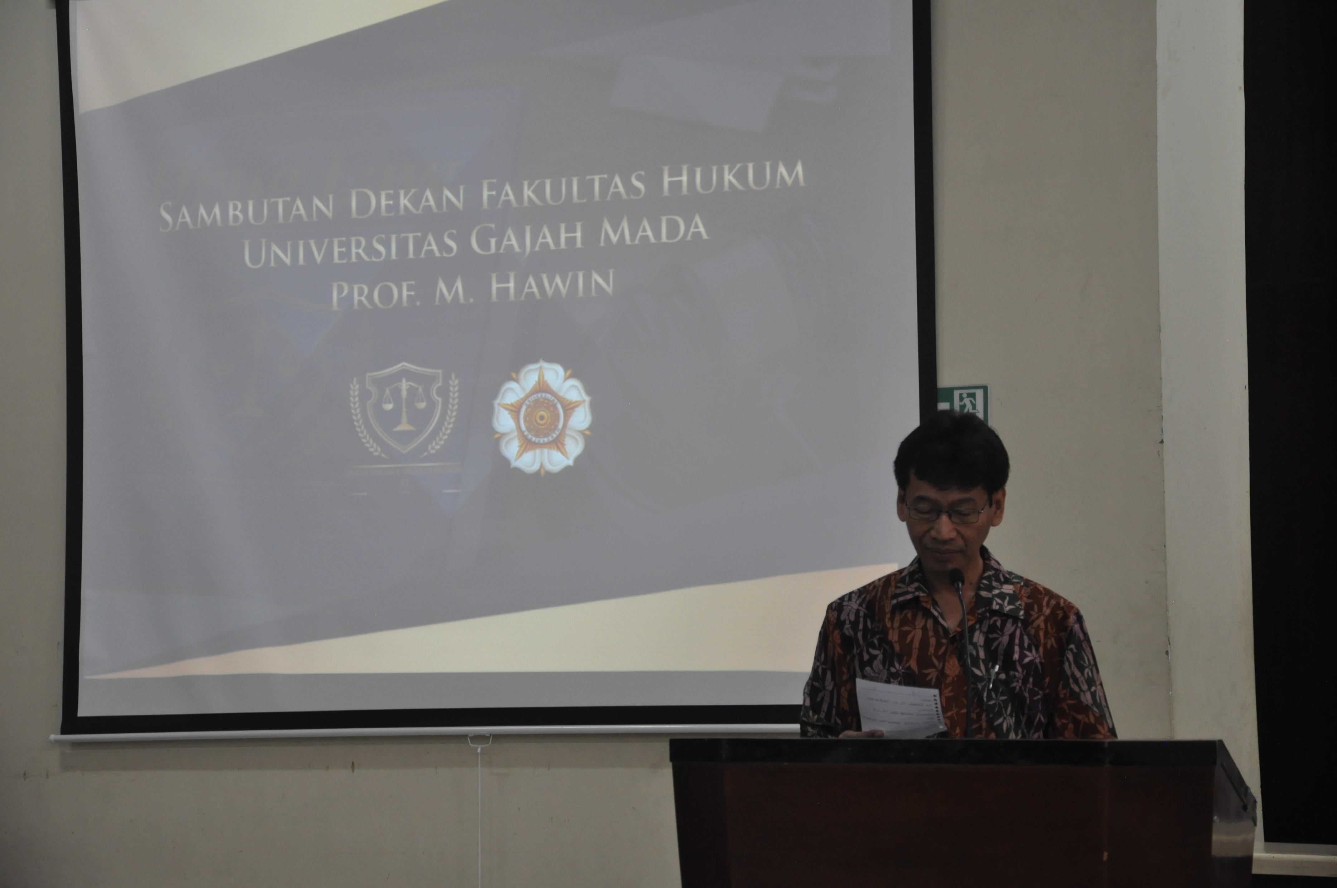 Komunitas Satria Paramartha Helat Kompetisi Peradilan Semu Se-FH UGM
