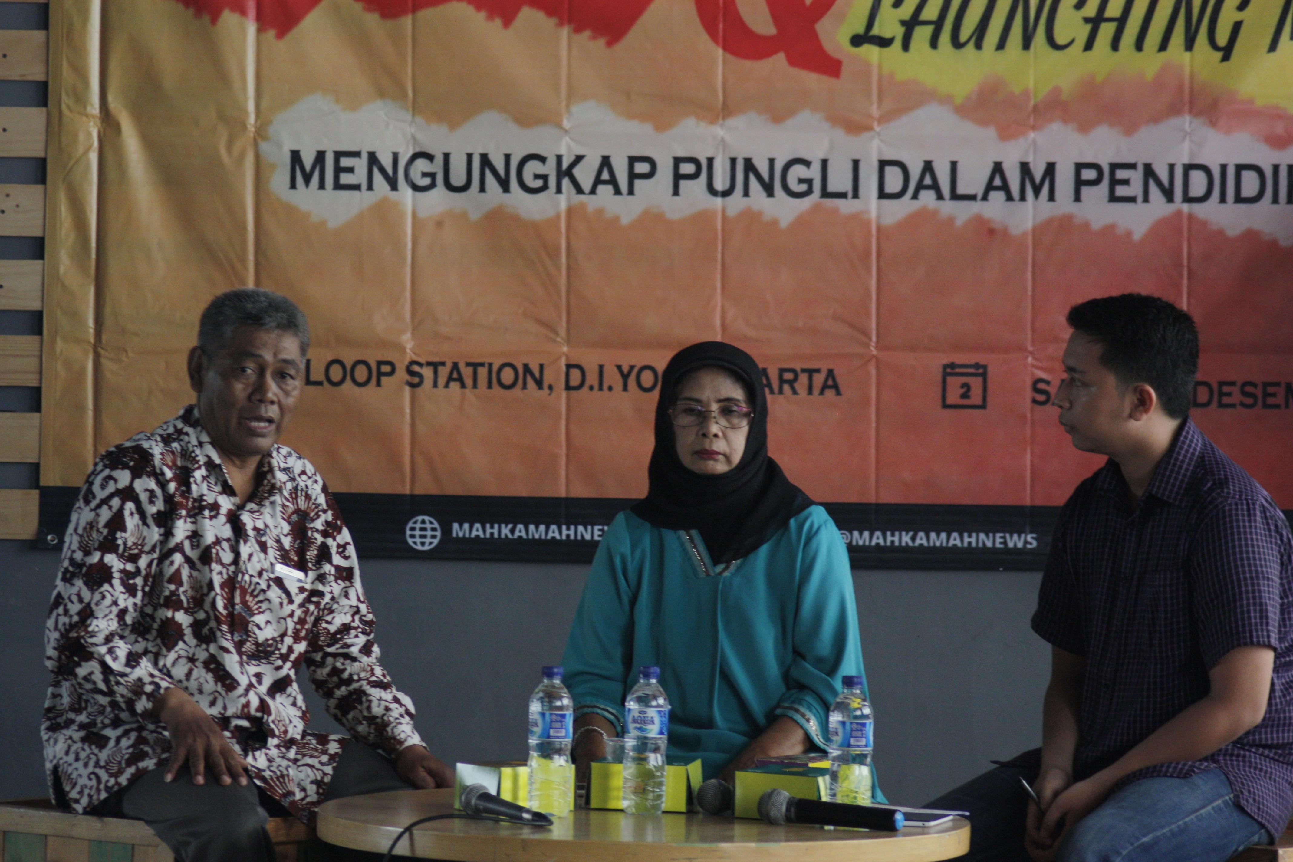 Diskusi Ilmiah & Launching Majalah BPPM MAHKAMAH 2017: Pungli dalam Pendidikan