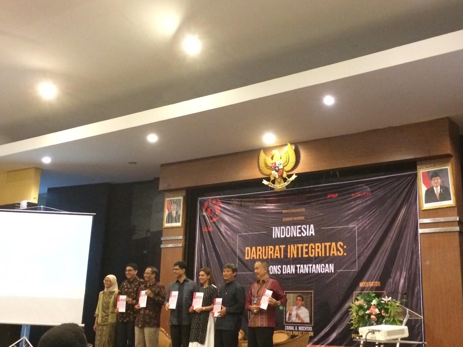 Indonesia Darurat Integritas: Seruan untuk Melembagakan Respon