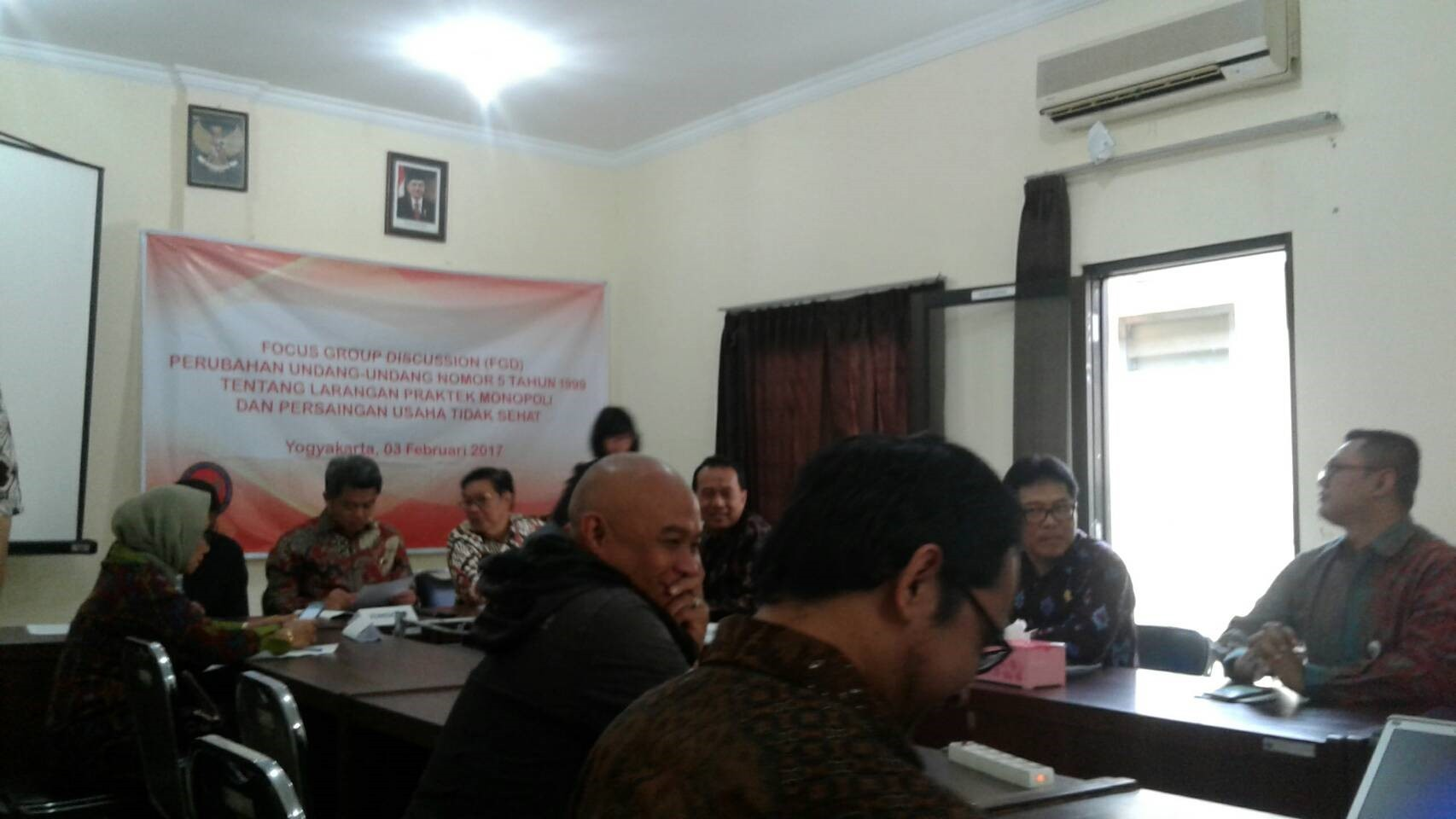 Forum Group Discussion Pusat Kajian Anti Korupsi : Perubahan UU Nomor 5 1999